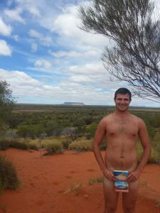 Naked in the Outback